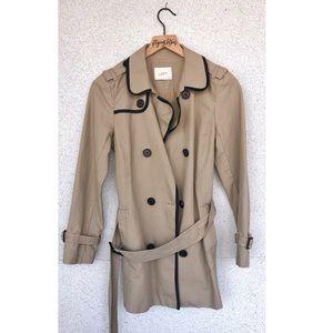 ANN TAYLOR LOFT | Trench Coat w/ Belt